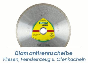 125 x 1,6mm Diamanttrennscheibe SUPRA  f. Fliesen, Feinsteinzeug u. Ofenkacheln (1 Stk.)