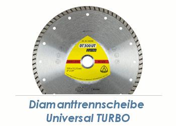 125 x 1,9mm  Diamanttrennscheibe Universal Turbo (1 Stk.)