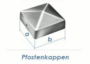 71 x 71mm Pfostenkappe rostfrei (1 Stk.)