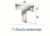 80 x 68 x 38mm T-Flachverbinder verzinkt (1 Stk.)