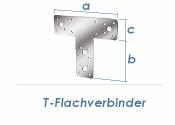 160 x 98 x 45mm T-Flachverbinder verzinkt (1 Stk.)