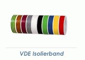 15mm VDE Isolierband rot - 10m Rolle (1 Stk.)