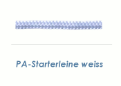3,5mm PA Starterleine Weiß (je 1 lfm)