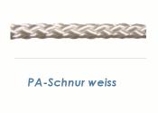 4mm PA Schnur Weiß (je 1 lfm)