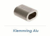 4mm Seil Klemmring Alu (1 Stk.)