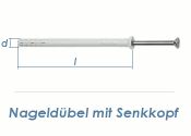 5 x 50mm Nageldübel m. Senkkopf (10 Stk.)