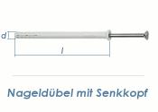 8 x 80mm Nageldübel m. Senkkopf Edelstahl A2 (1 Stk.)