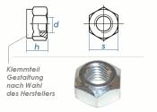 M8 Sicherungsmuttern DIN980 Stahl verzinkt FKL8 (10 Stk.)