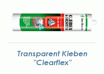 CLEARFLEX Hybridkleber transparent 290ml (1 Stk.)