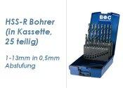 HSS-R ABS-Kassette 25 teilig  1-13mm (1 Stk.)