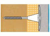 60mm Klimax-Slim Dämmplattenhalter f. 6mm Schrauben (10 Stk.)