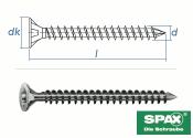 8 x 300mm SPAX Konstruktionsschrauben Vollgewinde TX...