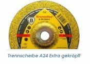 125 x 6mm Schruppscheibe f. Metall A24 Extra (1 Stk.)