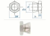 M6 Abreißmutter Edelstahl A2 (10 Stk.)