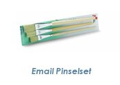 Email Pinselset 3 - tlg. (1 Stk.)