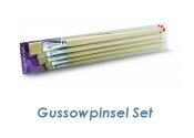Gussow Pinselset lang 5 tlg. (1 Stk.)