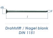 2,5 x 60mm Drahtstifte blank (2,5kg Paket)