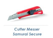 18mm Cutter Messer Samurai Secure (1 Stk.)
