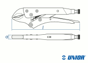 175mm Universal Gripzange 430/3 max. 30mm (1 Stk.)