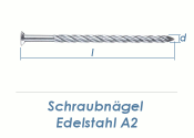 2,8 x 35mm Schraubnägel Edelstahl A2 (10 Stk.)