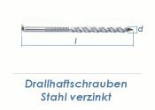 3,5 x 50mm Drallhaftschrauben verzinkt (100g = ca. 35 Stk.)