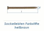 1,75 x 32mm Sockelleisten Farbstift hellbraun (100 Stk.)