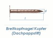 2,8 x 35mm Dachpappstifte Kupfer (100g = ca. 50Stk.)