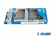 SW8 - 19 UNIOR Ring-Ratschengabelschlüsselset IBEX...