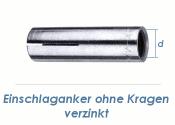 M8 Einschlaganker verzinkt (10 Stk.)