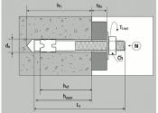 M8 x 72mm Bolzenanker Edelstahl A4 - ETA Opt. 1 (1 Stk.)