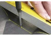 Pica Dry Ersatzminen Set 8-teilig graphit/rot/gelb (1 Stk.)