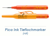 Pica Ink Tieflochmarker rot (1 Stk.)