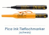 Pica Ink Tieflochmarker schwarz (1 Stk.)