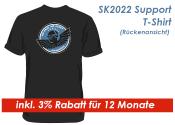SK2021 Support Shirt Gr. L / Schwarz --  inkl. 3% Rabatt...
