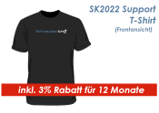 SK2021 Support Shirt Gr. L / Schwarz --  inkl. 3% Rabatt für 12 Monate -- (1 Stk.)