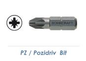 PZ 1 Bit - 25mm lang (1 Stk.)