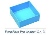 108 x 108mm Einsatzbox Gr.3 für EuroPlus Pro M/K  (1 Stk.)