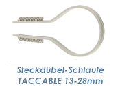 13-28mm Steckdübelschlaufe TACCABLE (10 Stk.)