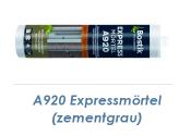 A920 Expressmörtel zementgrau 300ml (1 Stk.)