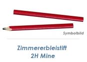 Zimmererbleistift 24cm mit 2H Mine (1 Stk.)