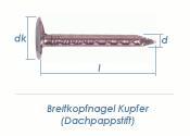 2,5 x 25mm Dachpappstifte Kupfer (100g = ca. 82Stk.)