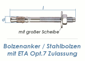 M16 x 240mm Bolzenanker verzinkt - ETA Opt. 7  (1 Stk.)