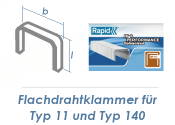 6mm Klammern Typ 11/140  (1 Pkg. zu 5000 Stk.)