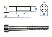 M10 x 90mm Zylinderschraube DIN912  Edelstahl A2  (1 Stk.)