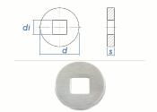 11mm Unterlegscheiben großer AD + dicker DIN440...