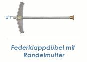 M4 Federklappdübel m. Rändelmutter (1 Stk.)