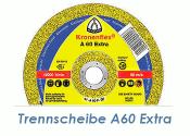 115 x 1mm Trennscheibe f. Metall / Edelstahl A60 Extra (1...
