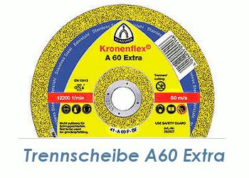 125 x 1mm Trennscheibe f. Metall / Edelstahl A60 Extra (1 Stk.)