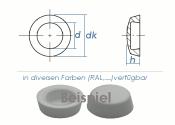Abdeckkappen f. 3,9mm Kappenschrauben - RAL9010...