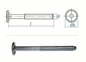 M6 x 35mm Zylinderkopfschrauben SW4 verzinkt (10 Stk.)